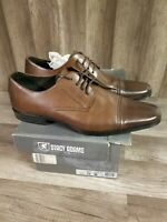 STACY ADAMS Oxford Style Shoes Sz 15 M  Cognac Brown Cap Toe