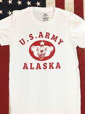 WWII US Army Alaska T Shirt Repro w Spec Tag Mens sz S - XL