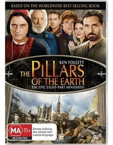 The Pillars Of The Earth (DVD, 2011, 3-Disc Set)