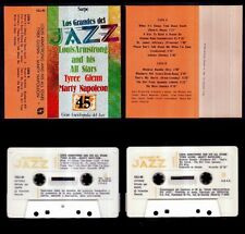 LOS GRANDES DEL JAZZ 45 - SPAIN CASSETTE SARPE 1981 - Louis Armstrong All Star