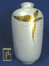 Signed & handpainted 50´s Heinrich & Co porcelain vase Kunstabteilung Chiemsee