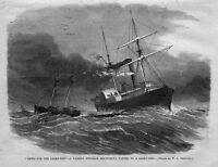NEWS FOR THE LIGHT-SHIP, STEAMER DELIVERING PAPERS TO A LIGHT-SHIP, NEWS HISTORY