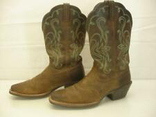 Womens 8 B M 15834 Ariat Legend Cowboy Boots Distressed Brown Leather Square Toe