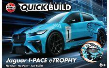 Airfix Quickbuild Jaguar I-pace Etrophy Model Kit - J6033
