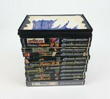 11 x Sega Saturn Original Replacement Game Boxes / Cases