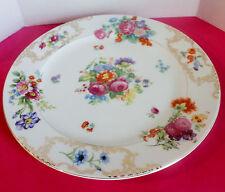 """Kongo ROMANCE  Dinner Plate 10""""  Dresden Floral"""
