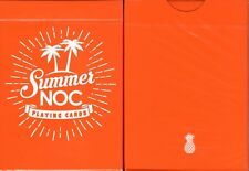 NOC Summer Orange v2 Playing Cards Poker Size Deck USPCC Custom Limited Edition