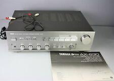 Rare Yamaha AX-630 Integrated Amplifier Silver w/ Yamaha AST-KS1 Cartridge