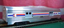 Lionel Polished Amtrak 6-19100 Extruded Aluminum 9100 Baggage Passenger Car