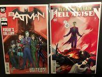 Batman 89 Year of the Villain Hell Arisen 3 2nd print lot 1st Designer Punchline