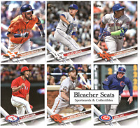 2017 Topps Series 2 Baseball - Base Set Cards - Pick From Card #'s 501-700