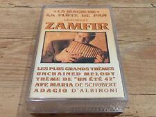GHEORGHE ZAMFIR - K7 audio / Audio tape !!! LA MAGIE DE LA FLUTE DE PAN !!!