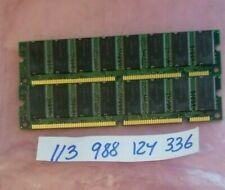1GB KIT   SDRAM PC 133 SDR SD MEMORY RAM PC133 168PIN NONECC PC DESKTOP RAM