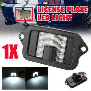 Fits 2005-2009 Ford Mustang 1 x 18 SMD LED License Plate Light Lamp Housing