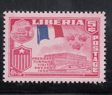 Liberia # 370 MNH 1958 Flag Issue With FRENCH Flag ERROR France