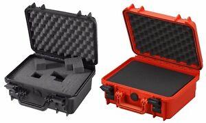Waterproof Dustproof Medium IP67 Rated Hard Protective Camera Case + Cubed Foam!