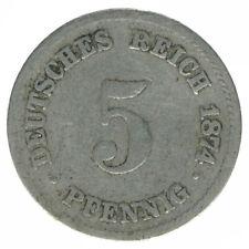 Deutsches Reich, 5 Pfennig 1874 F, A26353