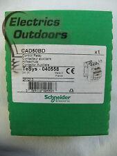 Schneider Electric 24v Dc Control relé Tesys 040558 cad50bd 2f1213