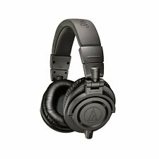 Audio Technica ATH-M50X Professional Studio Monitor Headphones Matte Gray Grey