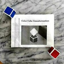 COLOR CUBE TRANSFORMATION by PETRICK COLOR CHANGING VANISHING CUBES MAGIC TRICK