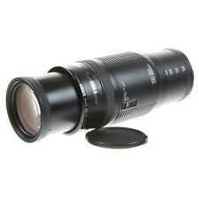 CANON EF 100-300MM F5.6 MACRO ZOOM LENS WITH CAPS - VERY GOOD CONDITION