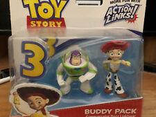 Disney Pixar TOY STORY 3 Buddy Pack Mattel Spanish Dancing Buzz Lightyear Jessie