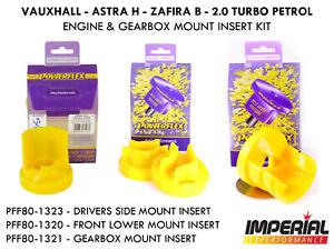 Mk5 Astra H POWERFLEX engine & gearbox mount insert kit VXR SRI Z20LEH Z20