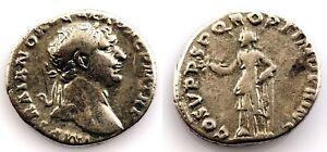 Roma-Trajano. Denario. 98-117 d.C. Roma. plata 3,4 g. Muy bonita