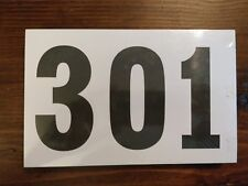 Gill Athletics Competitor's Number Paper Tags Set of 100, 301-400
