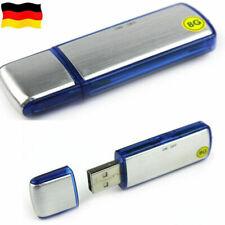 8gb Digital USB Diktiergerät Spion Diktiergerät Listening Gerät Speicherstick