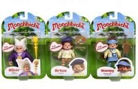MONCHHICHI FIGURES - AIKOR / ARTUS / STAMPY - CHOICE OF 3 CHARACTERS - NEW BOXED