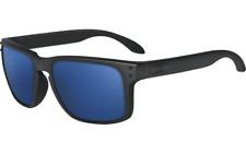 New Oakley Sport Holbrook Matte Black w/Ice Iridium OO9102-28
