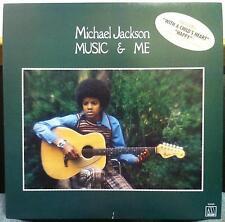 "Michael Jackson music & me 12.25"" Promo Poster 1984 Motown 5332Ml"
