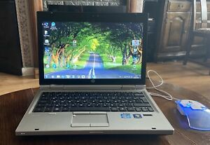 "HP Elitebook 2560p Laptop 12.5"" HD Powerful Notebook with SSD & Windows 10 Pro"