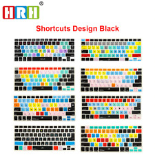 Macbook Pro Shortcuts Functional Keyboard Cover 13 Touch Silicone Air Skin 15
