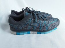 Ladies Blue And Grey Sketchers Gogamat Trainers Size 6