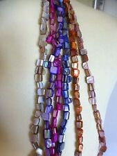 Pretty abalone shell strings of beads 6 colours bracelet.neclace. jewellery