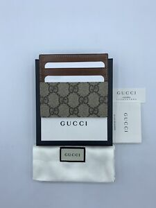 GUCCI SUPREME GG card holder