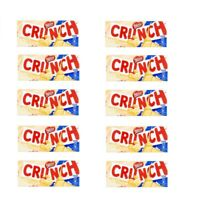 Nestle Crunch Candy Bars White | 10 x 3.5 Ounce of Crunch Chocolate Candy Bars W