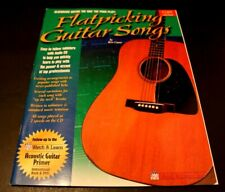Watch & Learn Flatpicking Guitar Songs Book w/Cd Bert Casey