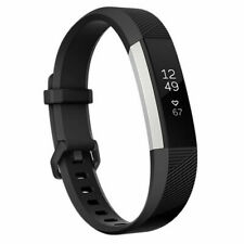 Fitbit Alta HR Heart Rate/Fitness Wristband Watch Black W012