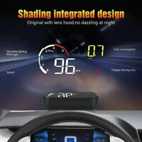 Car Head Up Display OBD2 Speedometer Warning System Dashboard Projector Scanner