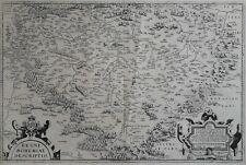 Böhmen Bohemia 1585 Karte Ortelius