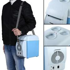 Car Small Refrigerator 12V Mini Fridge Compact Refridgerator Cooler Warmer 7.5L