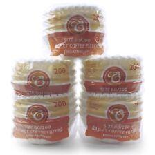 1000 Kaffeefilter Korbfilter 80/200 Korbfiltertüten für Gastroback Beem Melitta