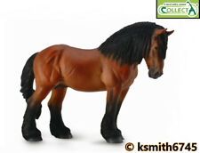 CollectA BAY ARDENNES STALLION solid plastic toy farm pet animal HORSE * NEW 💥