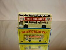 MATCHBOX LESNEY 74 DAIMLER BUS - ESSO EXTRA PETROL - VERY GOOD CONDITION IN BOX