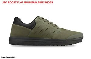 Specialized 2FO Roost Flat Mountain Trail Shoe Oak Green/Blk Size 49 US14.5