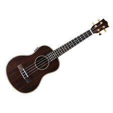 Snail Ukt-e598eq Electro Acoustic Ebony Tenor Ukulele (new)