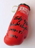 "Bobby Czyz Signed Autographed Mini Boxing Glove ""World Champion"" GV819116"